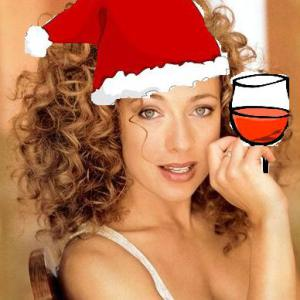 Alex Kingston  (You can leave your hat on....)