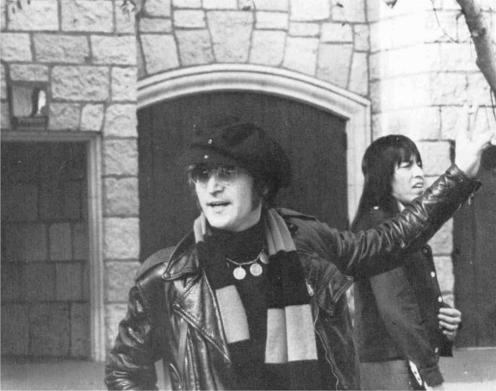 John Lennon at an unknown location.  (You're supposed to say he's AT Walt Disney World if he is)  Photo courtesy: PJ Media
